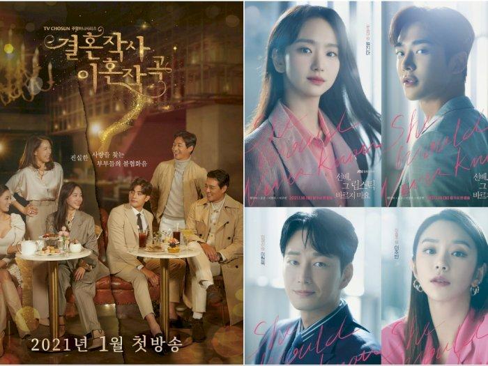 Manakah drama korea terbaru Januari 2021 yang paling kalian tunggu